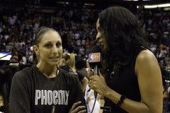 WNBA Phoenix Mercury wygrany Zdjęcia Stock