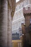 Wände von Vatican Stockbild