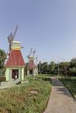 Wndmill庭院 库存图片