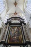 Wniebowzięcie dziewica Antwerp - bel - katedra Nasz dama - obraz stock