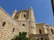 Wniebowzięcie Kościelny Domitsion w Jerozolima obrazy royalty free