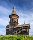 Wniebowzięcie Mary drewniany kościół Fotografia Royalty Free