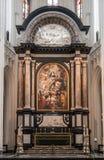 Wniebowzięcie maryja dziewica nad wysoki ołtarz, Antwerp Belg obraz stock