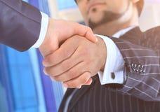 Wniosek transakcja handshake obraz stock