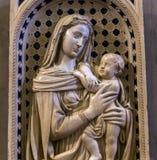 Wnętrza i szczegóły Bargello, Florencja, Włochy Obraz Royalty Free