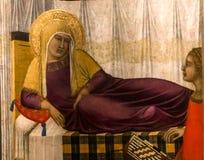 Wnętrza i szczegóły Siena katedra, Siena, Włochy Fotografia Royalty Free