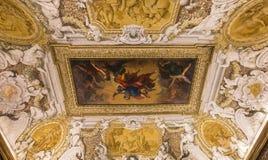 Wnętrza Palazzo Barberini, Rzym, Włochy Fotografia Royalty Free