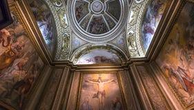 Wnętrza Palazzo Barberini, Rzym, Włochy Obraz Royalty Free