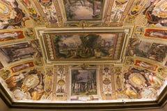 Wnętrza Palazzo Barberini, Rzym, Włochy Zdjęcie Stock