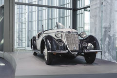 Wnętrze Audi muzeum w Ingolstadt Zdjęcia Royalty Free