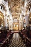 Wnętrze Chrystus kościół, Oxford Zdjęcie Stock