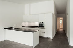 Wnętrze, domowa kuchnia Fotografia Stock
