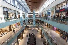 Wnętrze Dubaj centrum handlowe Zdjęcie Stock