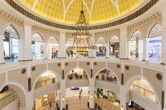 Wnętrze Dubaj centrum handlowe Fotografia Stock