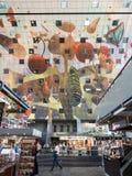 Wnętrze Markthal w Rotterdam, holandie Obrazy Stock