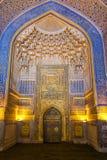 Wnętrze meczetowy Tilya Kari Zdjęcia Royalty Free