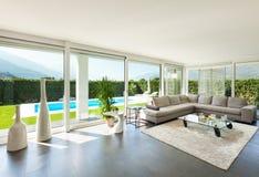 Wnętrze, piękny żywy pokój Zdjęcie Stock