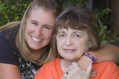 wnuczki babcia Obrazy Royalty Free