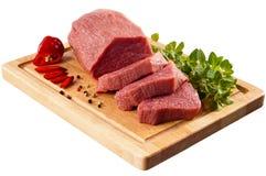wołowina świeża Fotografia Stock