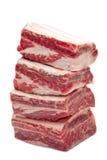 wołowina żebruje krótko Zdjęcie Royalty Free