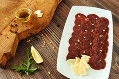 Wołowina Carpaccio obrazy stock
