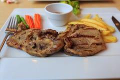 wołowina francuz smaży stek zdjęcie stock