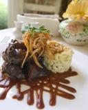 Wołowina gość restauracji Zdjęcie Royalty Free