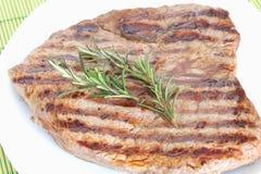 wołowina gotujący stek Obrazy Stock