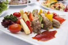 Wołowina grill Zdjęcia Stock