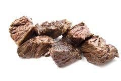 Wołowina kawałki dla posiłku taco lub opakunku Fotografia Royalty Free
