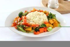 wołowina ryżu Zdjęcia Stock