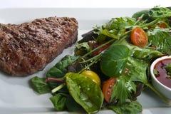 wołowina stek świeży sałatkowy Obraz Stock