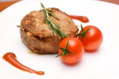 Wołowina stek Obrazy Royalty Free