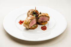 Wołowina stek Fotografia Stock