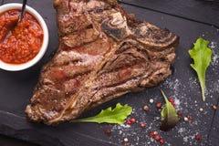 Wołowina stek Obrazy Stock