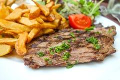 wołowina stek soczysty mięsny Fotografia Stock