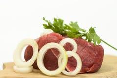 wołowiny świeżego mięsa warzywa Zdjęcie Royalty Free