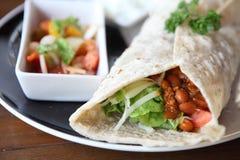 Wołowiny burrito zdjęcia stock