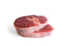 wołowiny goleń mięsna surowa zdjęcia royalty free