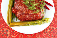 wołowiny kawału Orient plasowanie fotografia royalty free