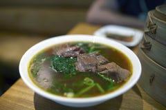 wołowiny korzenny chiński zupny Obrazy Royalty Free