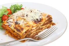 wołowiny lasagna fotografia stock