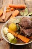 Wołowiny marchewka i gulasz obraz stock