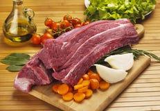wołowiny mięso fotografia stock