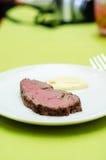 Wołowiny sous-vide stek Obrazy Stock