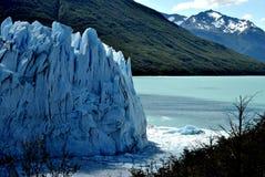 Wo der Gletscher beendet Stockfoto