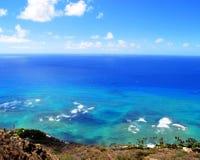 Wo der Ozean den Himmel trifft Stockbild