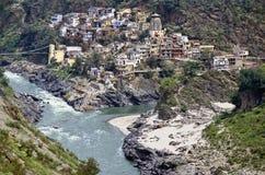 Wo Ganges anfangen Stockfoto