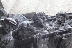 WO.II-gedenkteken in Kiev, de Oekraïne Stock Fotografie