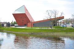 WO.II-museum gdansk polen Stock Afbeelding